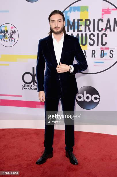 Alesso attends 2017 American Music Awards at Microsoft Theater on November 19 2017 in Los Angeles California