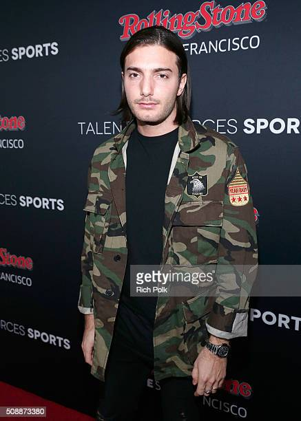 Alesso attends Rolling Stone Live SF with Talent Resources on February 7 2016 in San Francisco California