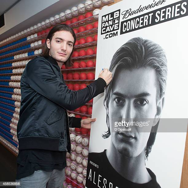 Alesso attends the 2014 MLB Fan Cave Concert Series at MLB Fan Cave on November 6 2014 in New York City