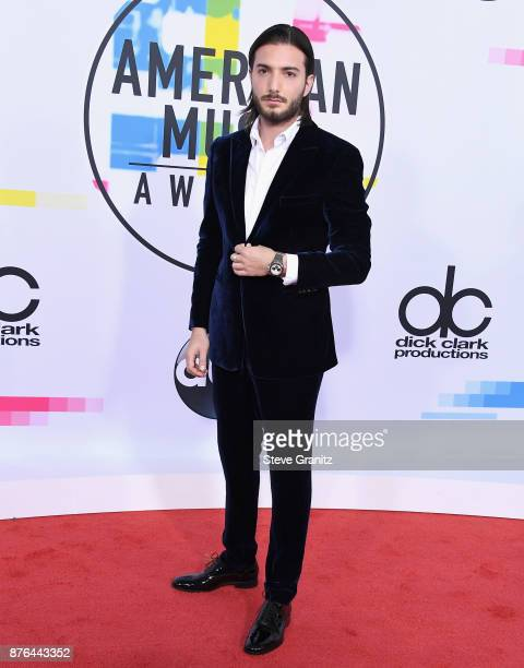 Alesso attends the 2017 American Music Awards at Microsoft Theater on November 19 2017 in Los Angeles California