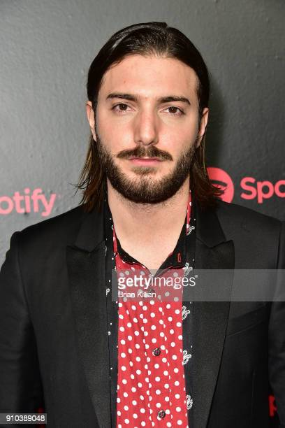 Alesso attends the 2018 Spotify Best New Artists Party held at Skylight Clarkson Sq on January 25 2018 in New York City