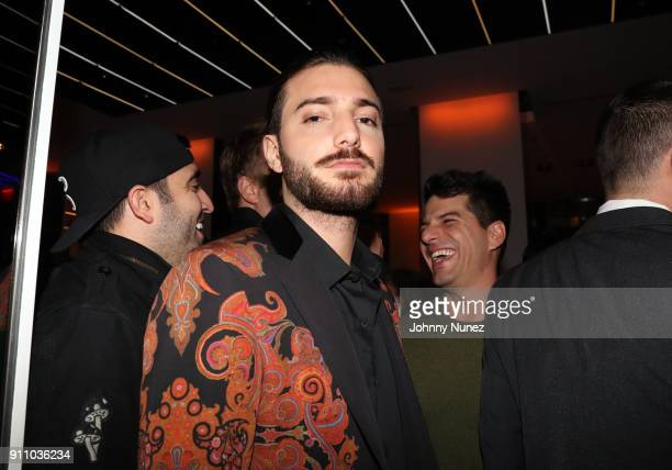 Alesso attends the Republic Records PreGrammy Party at Cadillac House on January 26 2018 in New York City
