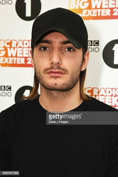 Alesso performs during day 2 of BBC Radio 1's Big Weekend at Powderham Castle on May 29 2016 in Exeter England