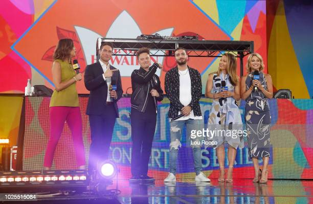 """Alesso performs live from Central Park on """"Good Morning America,"""" as part of the GMA Summer Concert series on Friday, August 31, 2018 airing on the..."""