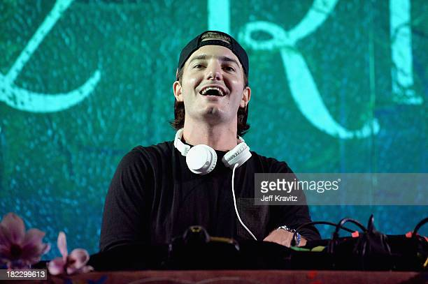 Alesso spins onstage at TomorrowWorld Electronic Music Festival on September 28 2013 in Chattahoochee Hills Georgia
