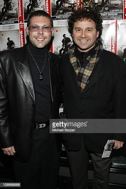 Alestar Digby and Harrison Held during Quadrophenia Musical Theatre Performance at The Avalon in Hollywood California United States