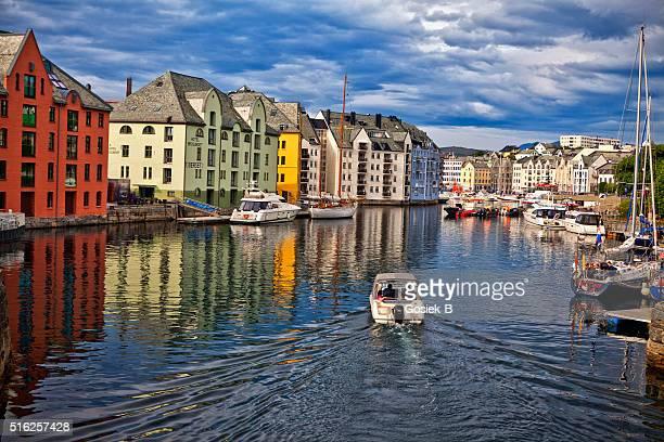 Alesund. Norway