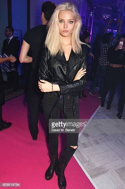Alesya Kafelnikova attends an intimate gig by Rita Ora at the newly relaunched Tezenis store at Oxford Circus crossing to celebrate Rita's recent...