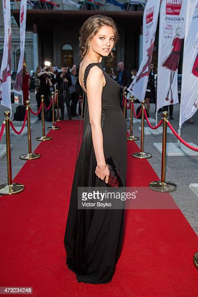 Alesya Kafelnikova attends the Hello The Most Stylish ceremony on May 13 2015 in Moscow Russia