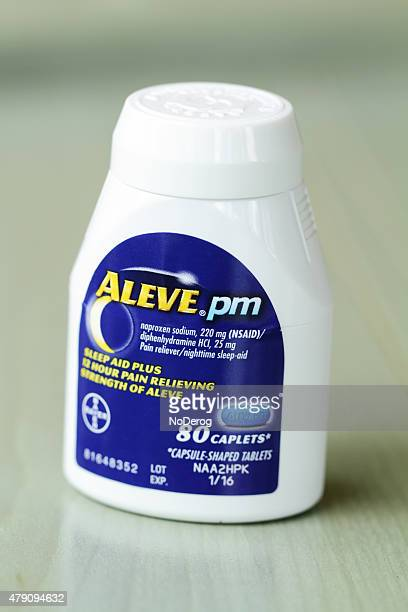 Aleve Pain Reliever and Sleep Aid Medicine
