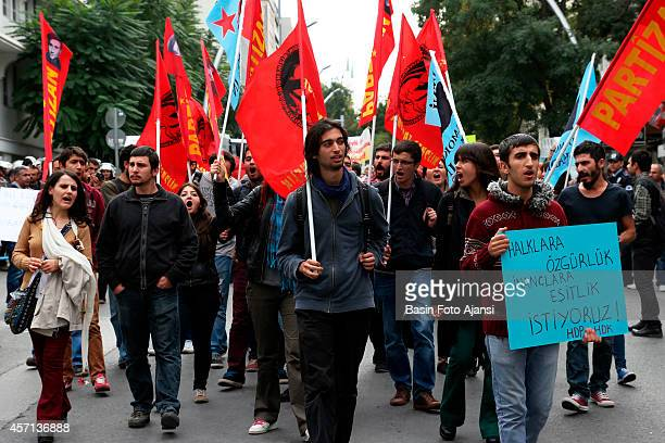 Alevis marched against the government's antisecular education policy in Ankara Turkey They also protested against the Turkish government's policy on...