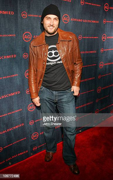 Alex A Quinn during AG Jeans 1st Anniversary Party Red Carpet at AG On Robertson in Los Angeles California United States