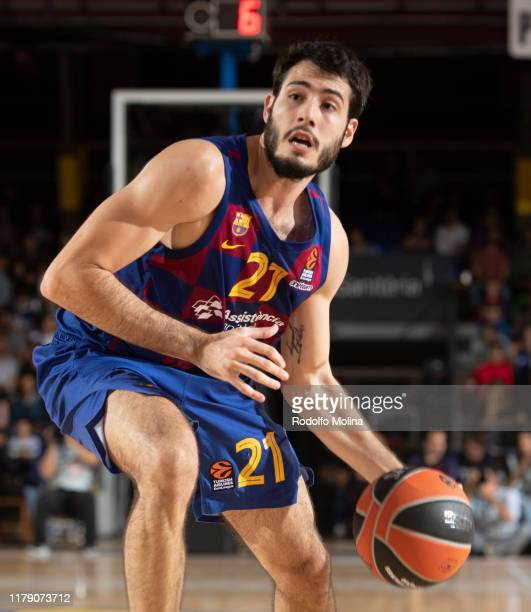 Alex Abrines, #21 of FC Barcelona in action during the 2019/2020 Turkish Airlines EuroLeague Regular Season Round 5 match between FC Barcelona and...
