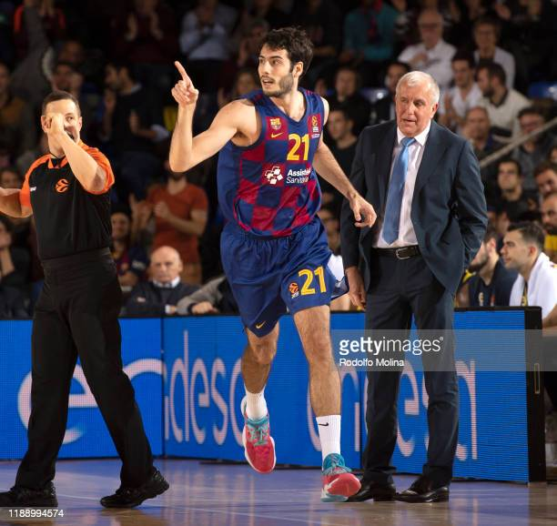 Alex Abrines, #21 of FC Barcelona in action during the 2019/2020 Turkish Airlines EuroLeague Regular Season Round 9 match between FC Barcelona and...