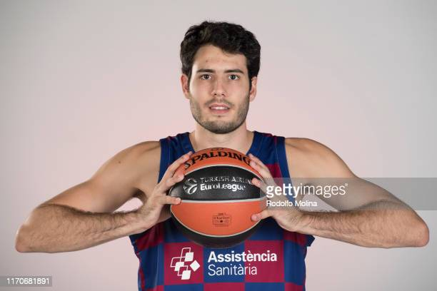 Alex Abrines, #21 poses during the FC Barcelona 2019/2020 Turkish Airlines EuroLeague Media Day at Ciudad Deportiva Joan Gamper on September 23, 2019...