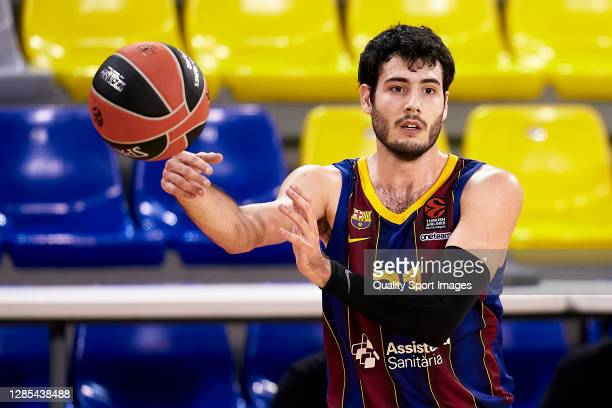 Alex Abrines of FC Barcelona in action during the 2020/2021 Turkish Airlines EuroLeague match between FC Barcelona and Fenerbahce Beko Istanbul at...