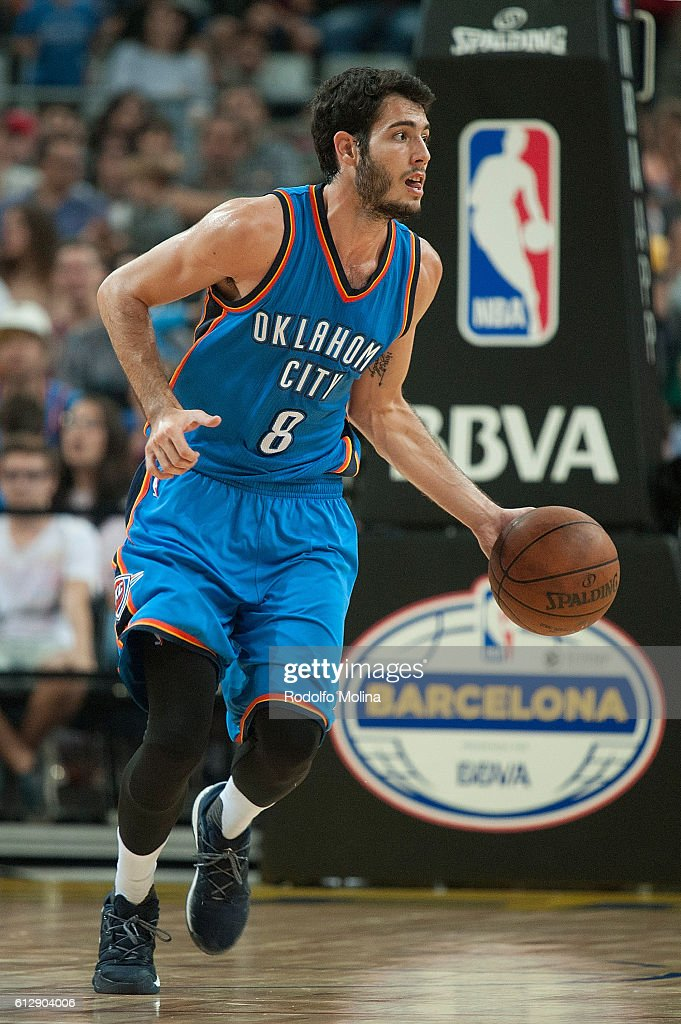 FC Barcelona Lassa v Oklahoma City Thunder - NBA Global Games Spain 2016 : News Photo
