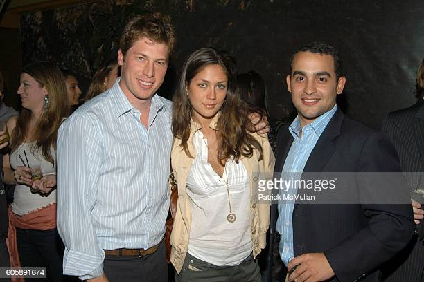 Alex Acquavella Dominique Huett and Jamie Bonetti attend JORDANA BREWSTER's Blame it on Rio Birthday Party hosted by CABANA CACHACA at Bungalow 8 on...