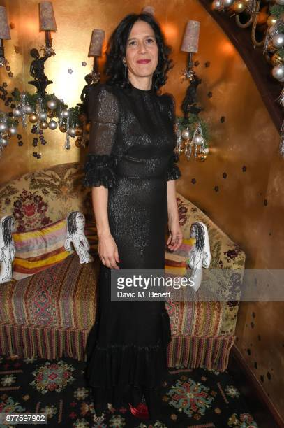 Alex Adamson attends the Nick Cave The Bad Seeds x The Vampires Wife x Matchesfashioncom party at Loulou's on November 22 2017 in London England