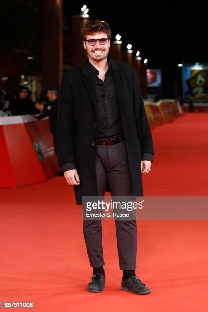 Alex Adinolfi walks a red carpet for 'Cuernavaca' during the 12th Rome Film Fest at Auditorium Parco Della Musica on October 29 2017 in Rome Italy