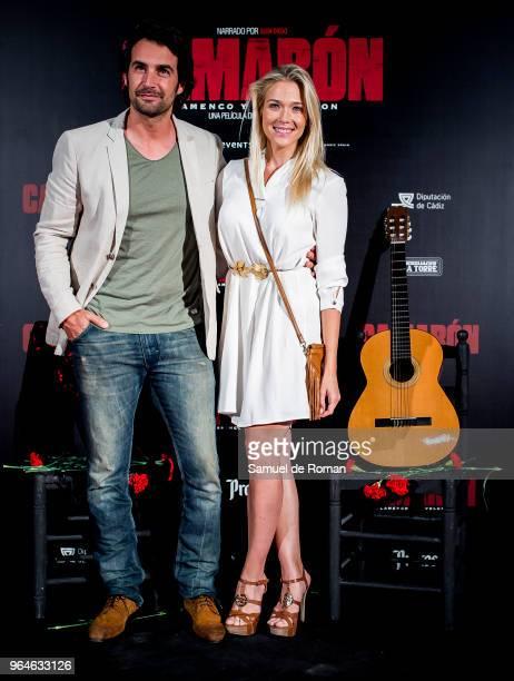 Alex Adrover and Patricia Montero attend 'Camaron Flamenco Y Revolucion' Madrid Premiere on May 31 2018 in Madrid Spain