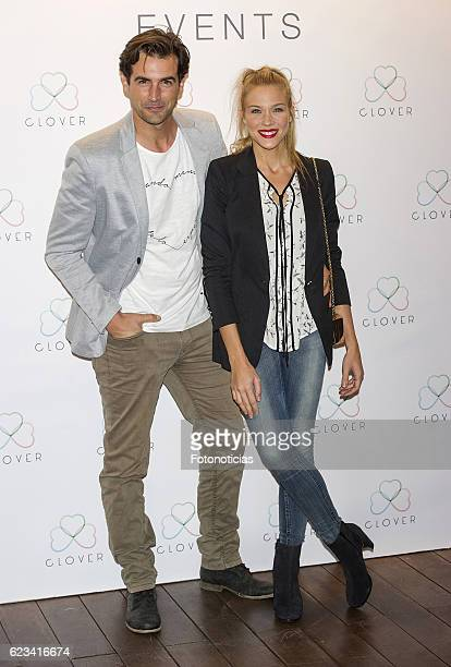 Alex Adrover and Patricia Montero attend the 'Clover' events agency presentation at the Room Mate Oscar Hotel on November 15 2016 in Madrid Spain