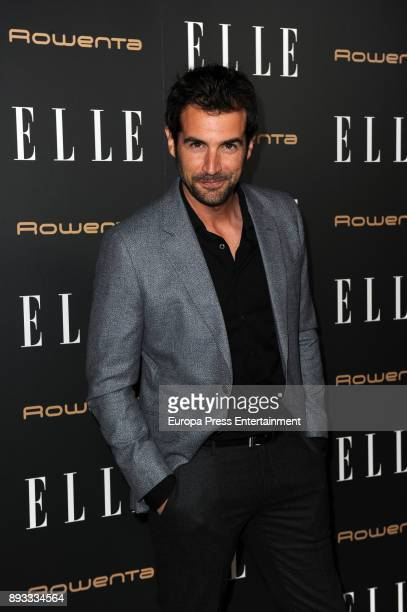 Alex Adrover attends Elle Christmas Party on December 13 2017 in Madrid Spain