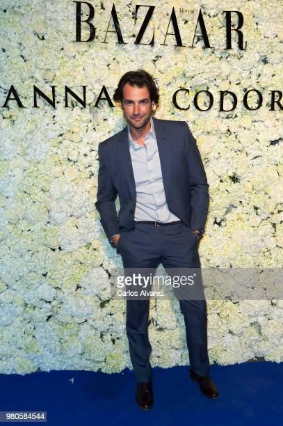 Alex Adrover attends Harper's Bazaar and Anna De Codorniu party at Alma Club on June 21 2018 in Madrid Spain