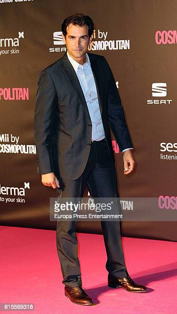 Alex Adrover attends IX Cosmopolitan Fun Fearless Female Awards at La Riviera on October 18 2016 in Madrid Spain