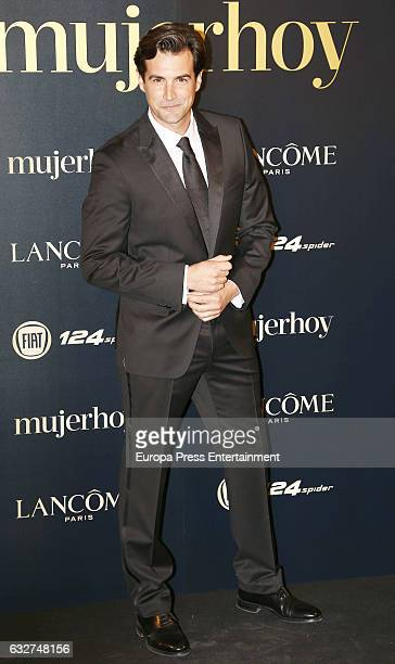 Alex Adrover attends 'Mujer Hoy' Awards 2016 at Casino de Madrid on January 25 2017 in Madrid Spain