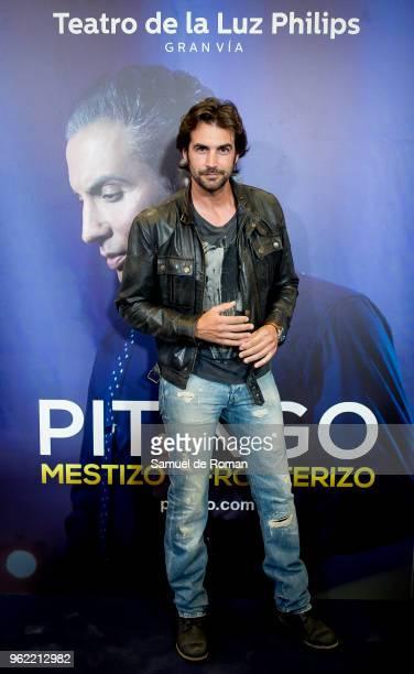 Alex Adrover attends 'Pitingo Mestizo Y Fronterizo' Madrid Premiere on May 24 2018 in Madrid Spain