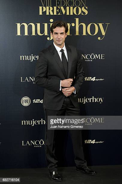 Alex Adrover attends 'VII Premios Mujer Hoy' at Casino de Madrid on January 25 2017 in Madrid Spain