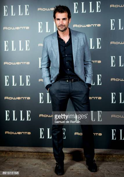 Alex Adrover during Elle Christmas Party in Madrid on December 13 2017 in Madrid Spain