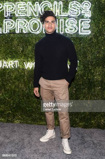 Alex Alono attends the 2017 Pencils of Promise Gala at Central Park on December 7 2017 in New York City