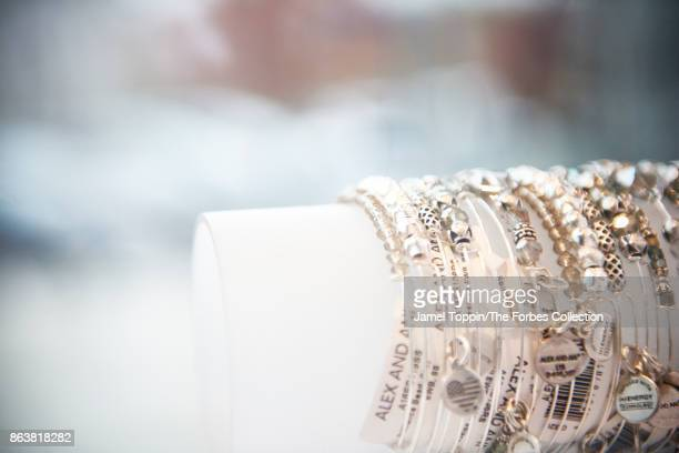 Alex and Ani bracelets are photographed for Forbes Magazine on November 3 2016 in Cranston Rhode Island PUBLISHED IMAGE CREDIT MUST READ Jamel...