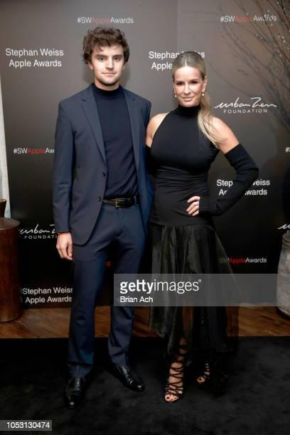 Alex Ashton and Dr Jennifer Ashton attend the Stephan Weiss Apple Awards at Urban Zen on October 24 2018 in New York City