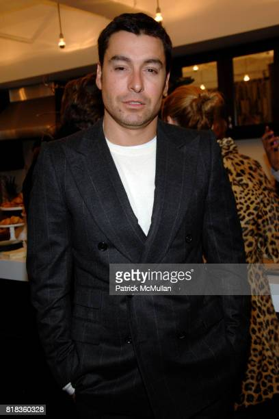 Alex Badia attend ECCO DOMANI FASHION FOUNDATION Winner's Breakfast at Luxe Laboratory on February 12th 2010 in New York City