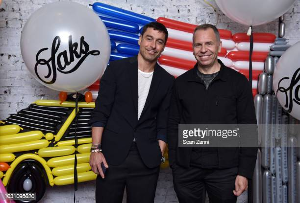 Alex Badia attends as Saks celebrates AdR Book Beyond Fashion By Anna Dello Russo with a private dinner at WAYAN on September 10 2018 in New York City