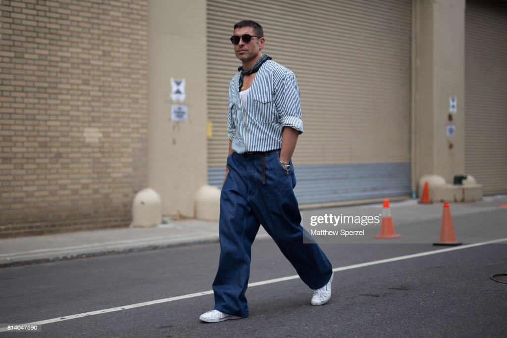 Street Style - NYFW: Men's July 2017 - Day 4 : ニュース写真