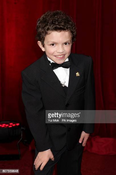 Alex Bain arriving for the 2010 British Soap Awards at the ITV Studios South Bank London