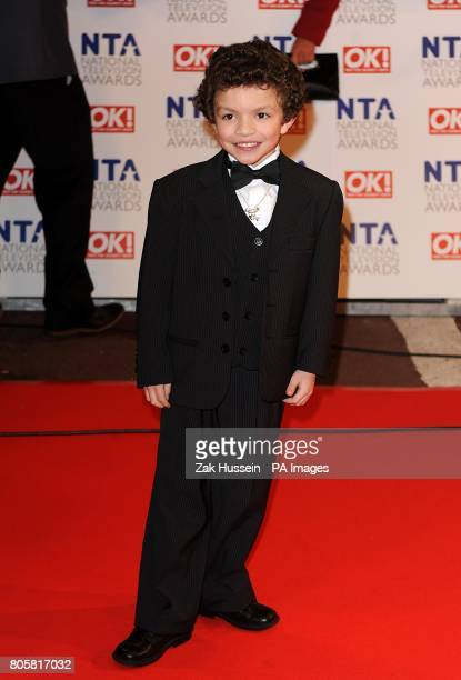 Alex Bain arriving for the National Television Awards 2010 at the 02 Arena London