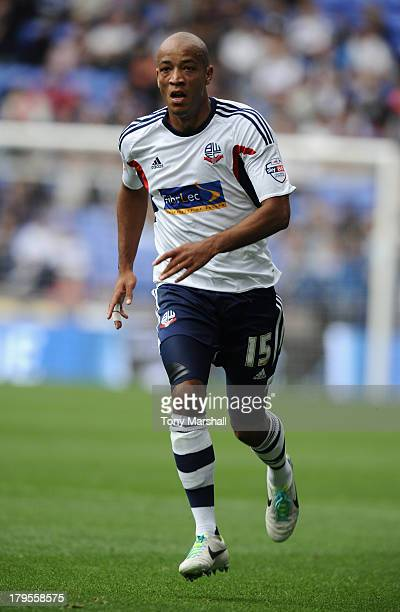 Alex Baptiste of Bolton Wanderers during the Sky Bet Championship match between Bolton Wanderers and Queens Park Rangers at Reebok Stadium on August...