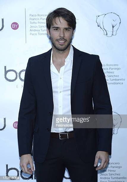 Alex Barahona attends Bambu Producciones anniversary party at Shoko on July 4 2013 in Madrid Spain
