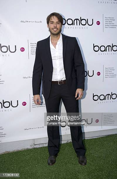 Alex Barahona attends Bambu Producciones anniversary party at Shoko Nightclub on July 4 2013 in Madrid Spain