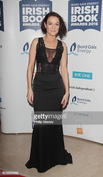 Alex Barclay attends the Bord Gais Energy Irish Book Awards at Double Tree Hilton Hotel on November 16 2016 in Dublin Ireland