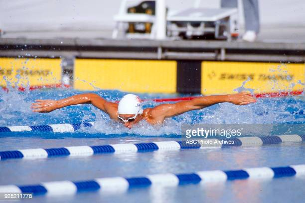 Alex Baumann Men's Swimming 400 metre individual medley competition McDonald's Olympic Swim Stadium at the 1984 Summer Olympics July 30 1984