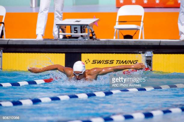 Alex Baumann Men's Swimming individual medley competition McDonald's Olympic Swim Stadium at the 1984 Summer Olympics August 1 1984