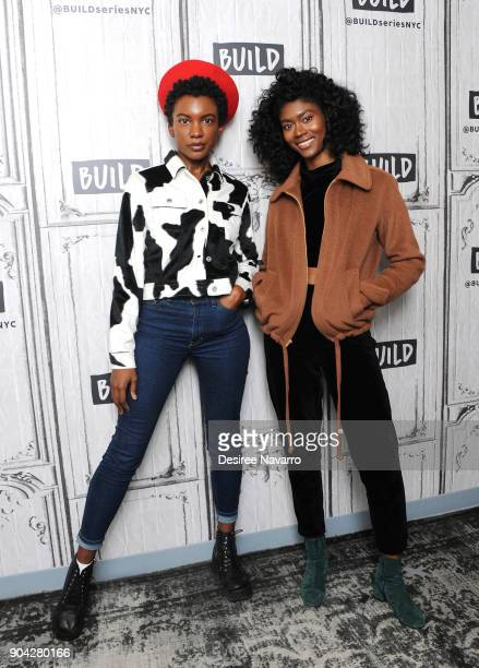 Alex Belle and Isis Valentino who make up RB duo known as St Beauty visit Build Series to discuss 'Running to the Sun' at Build Studio on January 12...