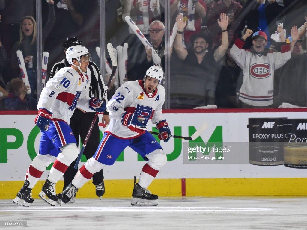 Cleveland Monsters v Laval Rocket : News Photo