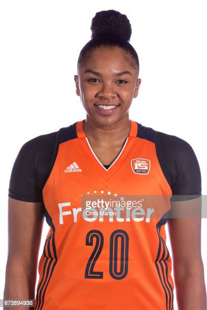 Alex Bentley of the Connecticut Sun poses for a head shot at WNBA Media Day at Mohegan Sun on April 26 2016 in Uncasville Connecticut NOTE TO USER...